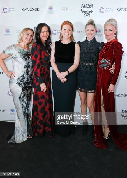 Mika Simmons Josephine Daniel Sarah Ferguson Duchess of York Storm Keating and Tamara Beckwith attends the Lady Garden Gala in aid of Silent No More...