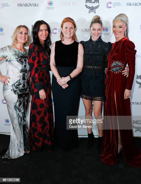 Mika Simmons Josephine Daniel Sarah Ferguson Duchess of York Storm Keating and Tamara Beckwith attend the Lady Garden Gala in aid of Silent No More...
