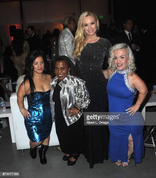 Mika Tonya Renee Banks Katie Lohmann and Terra Jole at Amare Magazine Presents A Black Tie Event featuring cover model Mike O'Hearn held at Hangar 21...
