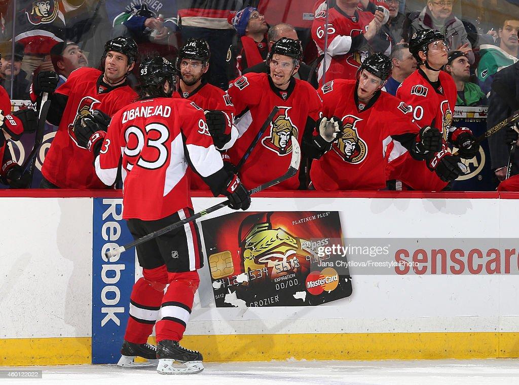 Vancouver Canucks v Ottawa Senators : News Photo
