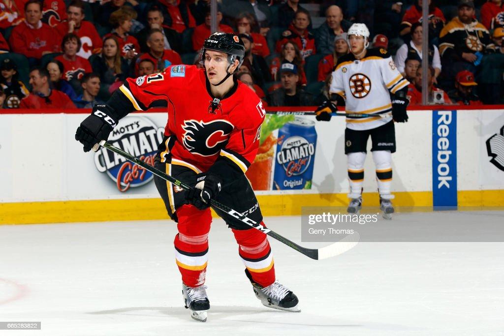 Boston Bruins v Calgary Flames