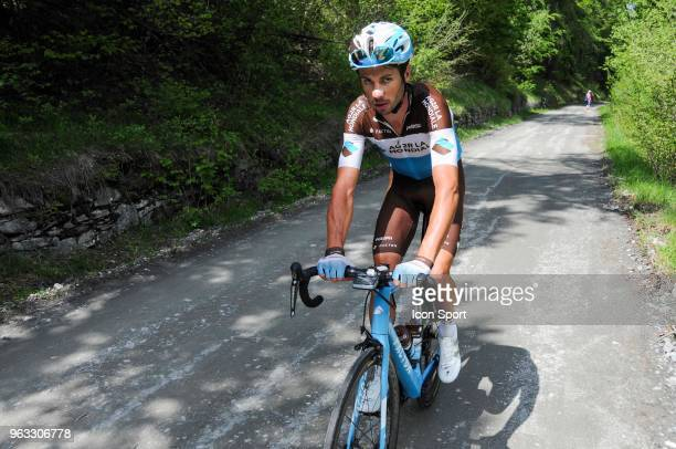 Mikael Cherel of Ag2r La Mondiale in Colle Delle Finestre during the 101st Tour of Italy 2018 Stage 19 a 185km stage from Venaria Reale to...
