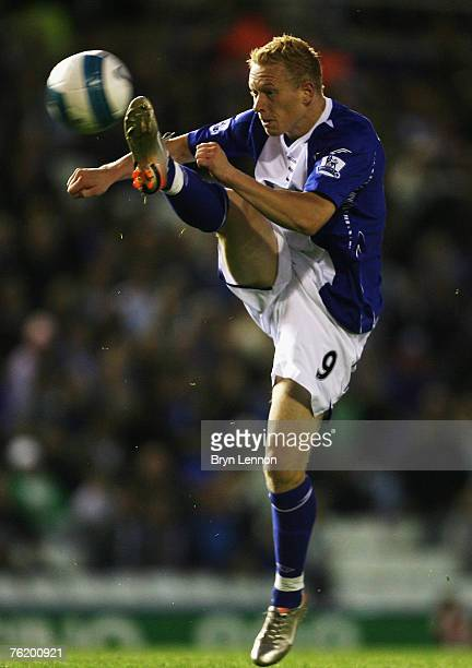 Mikael Forssell of Birmingham City in action during the Barclays Premier League match between Birmingham City and Sunderland at St Andrews on August...