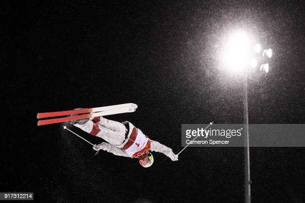 Mikael Kingsbury of Canada competes in the Freestyle Skiing Men's Moguls Final on day three of the PyeongChang 2018 Winter Olympic Games at Phoenix...