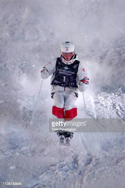 Mikael Kingsbury of Canada competes in the Men's Dual Moguls Final of the FIS Freestyle Ski World Championships on February 09 2019 at Deer Valley...