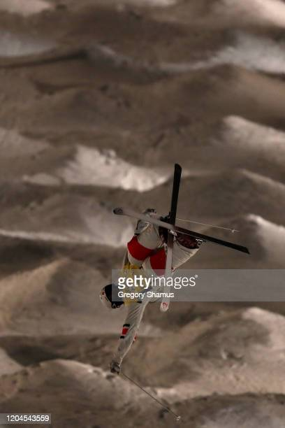 Mikael Kingsbury of Canada competes in the Mens Moguls Final at the FIS Freestyle World Cup on February 06, 2020 in Park City, Utah.