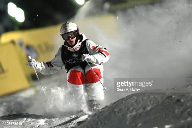 Mikael Kingsbury of Canada competes in the Men's Moguls Final during the FIS Freestyle Ski World Championships on February 08 2019 at Deer Valley...
