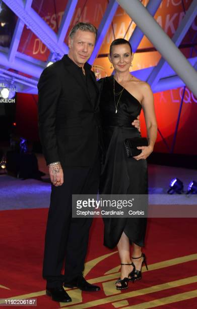 Mikael Persbrandt and Sanna Cecilia Lundell attend the Tribute to Australian Cinema during the 18th Marrakech International Film Festival -Day Seven-...