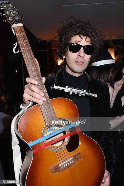 Mikael silander disguised as Bob Dylan attends 'Are you Talking to me' Tribute to Martin Scorcese Party Hosted by Nicolas Ullmann at Bus Palladium on...