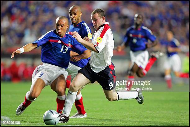 Mikael Silvestre and Wayne Rooney