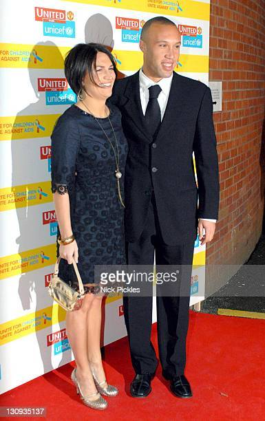 Mikael Silvestre during United for UNICEF Gala Dinner Arrivals at Old Trafford Manchester United Football Club in Manchester Great Britain