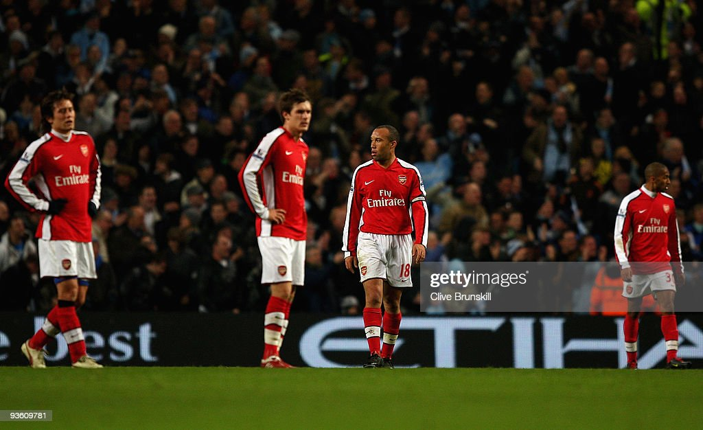 Manchester City v Arsenal - Carling Cup Quarter Final