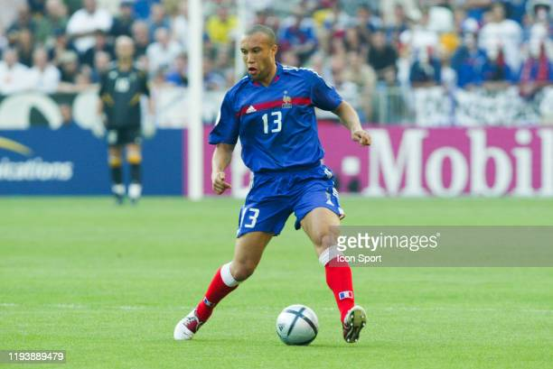 Mikael SILVESTRE of France during the European Championship match between Croatia and France at Estadio Dr. Magalhaes Pessoa, Leiria, Portugal on 17...