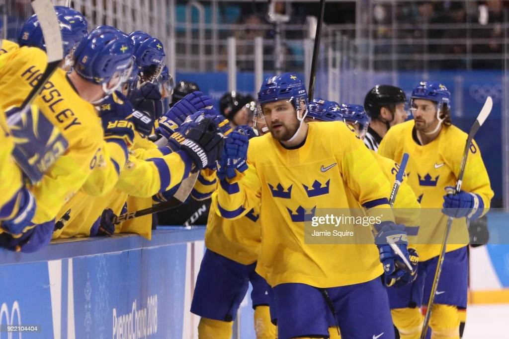 Ice Hockey - Winter Olympics Day 12 : Nachrichtenfoto