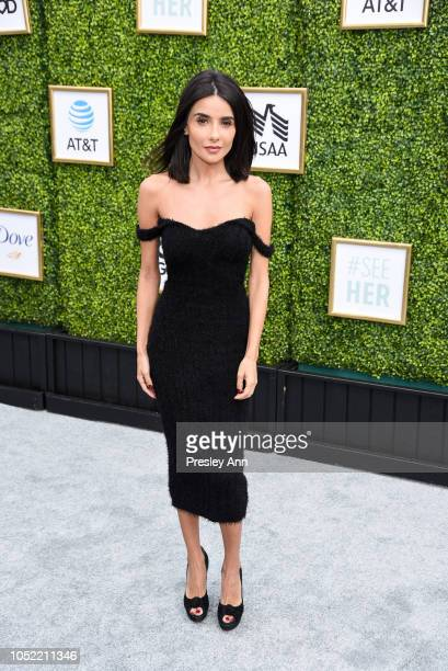Mikaela Hoover attends The CW Network's fall launch event at Warner Bros. Studios on October 14, 2018 in Burbank, California.