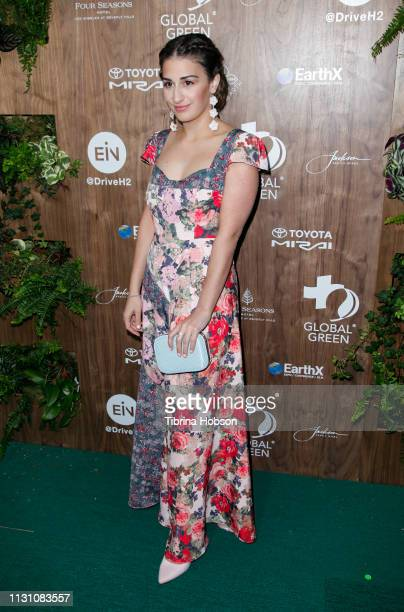 Mikaela Phillips attends Global Green's 2019 PreOscar Gala at Four Seasons Hotel Los Angeles at Beverly Hills on February 20 2019 in Los Angeles...