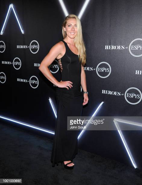 Mikaela Shiffrin attends HEROES at The ESPYS at City Market Social House on July 17 2018 in Los Angeles California