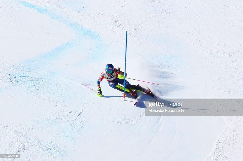 FIS World Ski Championships - Women's Slalom : News Photo