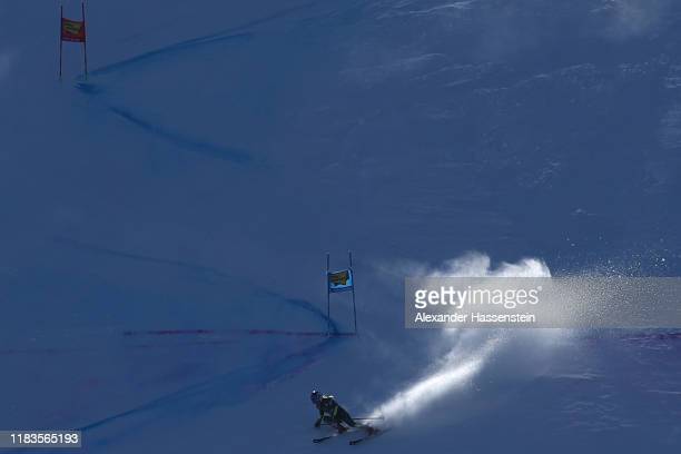 Mikaela Shiffrin of the USA competes in the 2nd run of the Audi FIS Alpine Ski World Cup - Women's Giant Slalom at Rettenbachferner on October 26,...