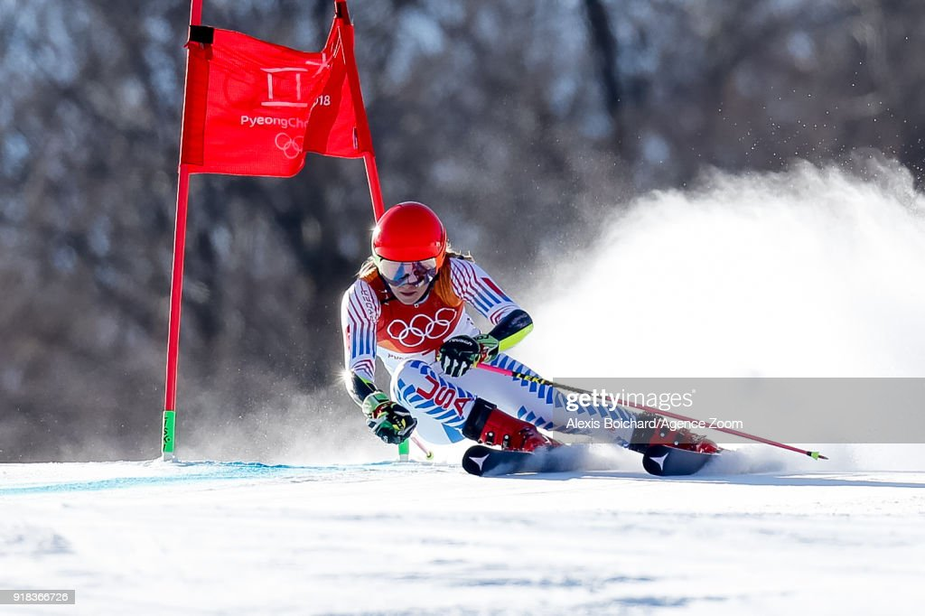 Alpine Skiing - Winter Olympics Day 6 : News Photo