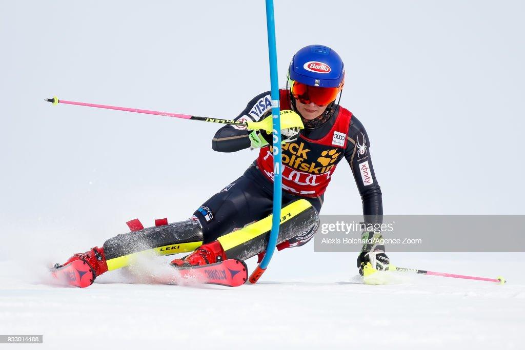 Audi FIS Alpine Ski World Cup Finals - Women's Slalom : News Photo