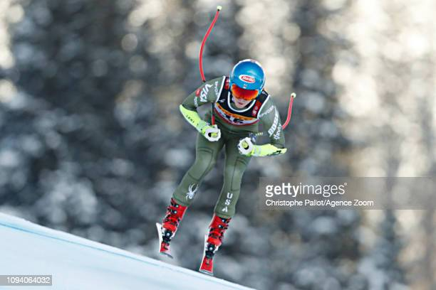 Mikaela Shiffrin of USA wins the gold medal during the FIS World Ski Championships Women's Super G on February 5, 2019 in Are Sweden.