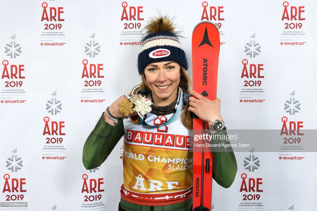 FIS World Ski Championships - Women's Slalom : News Photo