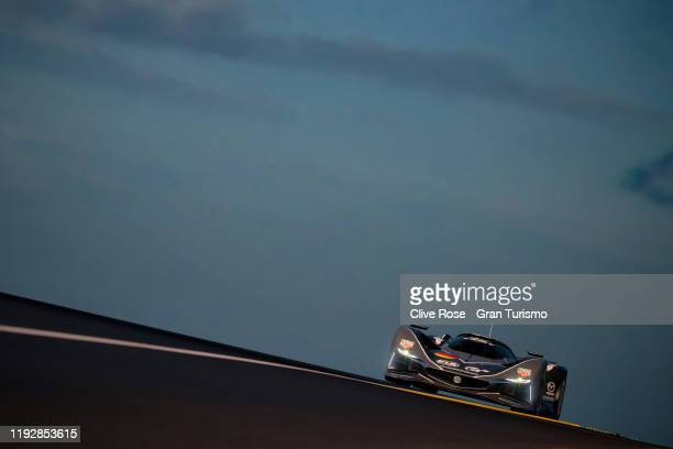 Mikail Hizal of Germany competes in Race 3 of the Nations Cup Final during the Gran Turismo World Tour 2019 Finals held at Monte-Carlo Sporting club...