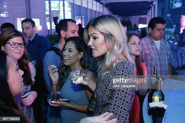 Mikala Thomas and Tori Deal attend Are You The One New York Premiere at 1515 Broadway on June 2 2016 in New York City