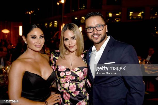 Mikalah Godron Pia Toscano and Jai Rodriguez attend the Transformative Medicine of USC Rebels with a Cause GALA at on October 24 2019 in Santa Monica...