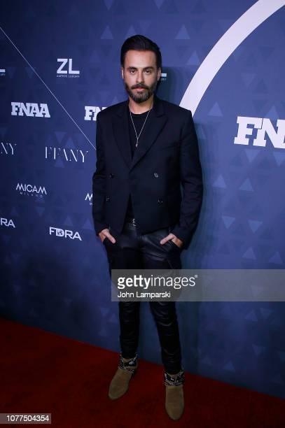 Mike Amiri attends 2018 FN Achievement Awards at IAC Headquarters on December 04 2018 in New York City