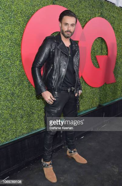 Mike Amiri attends the 2018 GQ Men of the Year Party at a private residence on December 6 2018 in Beverly Hills California