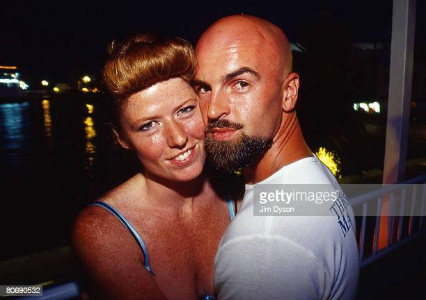 Mike and Claire McKay founders of the famous Ibiza club Manumission pose prior to their opening party of the season to be held at the world's largest...