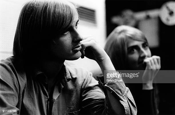 Mike And Sally Oldfield recording their first LP 'Children of the Sun' August 1968 He worked with his sister Sally Oldfield as The Sallyangie at that...
