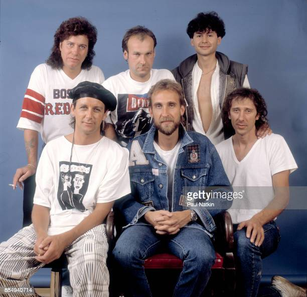Mike and the Mechanics at the Holiday Star Theater in Merrillville, Indiana, June 12, 1986.