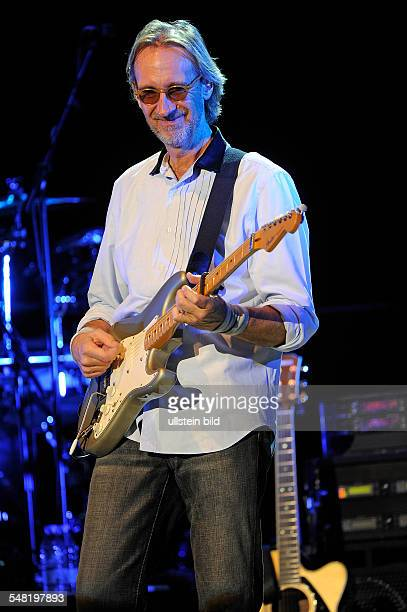 Mike and the Mechanics - Band, Rock music, UK - Singer Mike Rutherford performing in Hamburg, Germany, Musikhalle Laeiszhalle - Editorial-use-only!