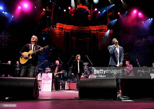 Mike and the Mechanics perform at The Prince's Trust Rock Gala 2010 supported by Novae at the Royal Albert Hall on November 17, 2010 in London,...