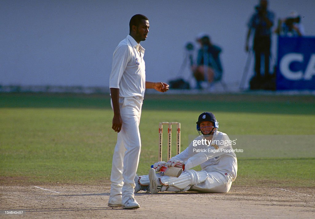 West Indies v England, 1st Test, Kingston, Feb 94 : News Photo
