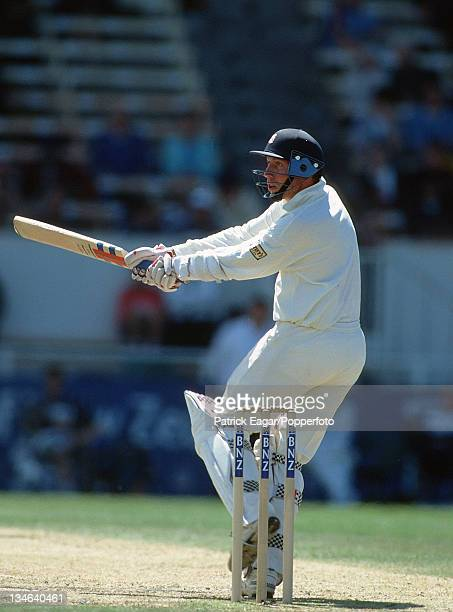 Mike Atherton New Zealand v England 3rd Test Christchurch Feb 97