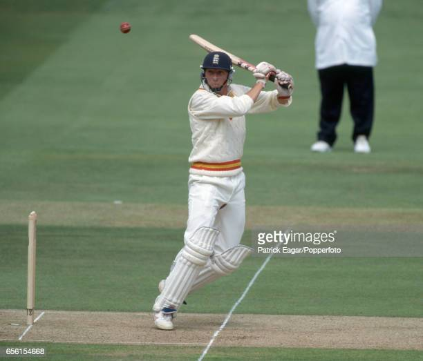 Mike Atherton of England batting for MCC in the Princess of Wales Memorial match between MCC and Rest of the World at Lord's Cricket Ground London...