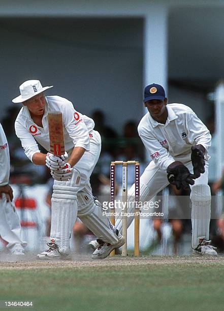 Mike Atherton Sri Lanka v England 1st Test Galle Feb 01
