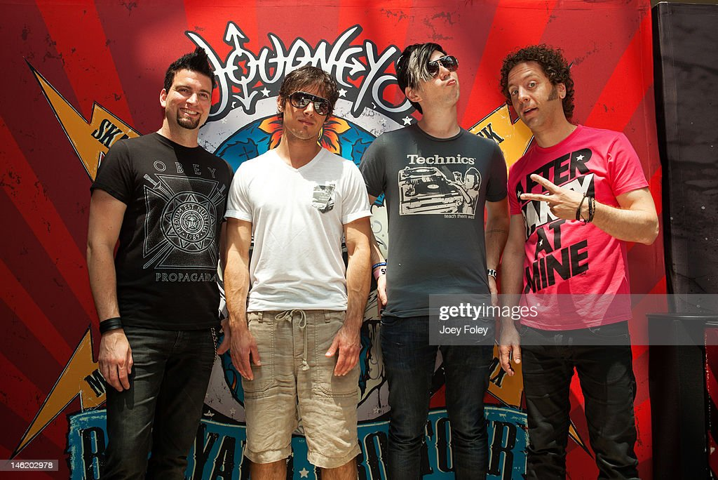Incroyable Mike Ayley, Matt Webb, Josh Ramsay, And Ian Casselman Of The Rock Band