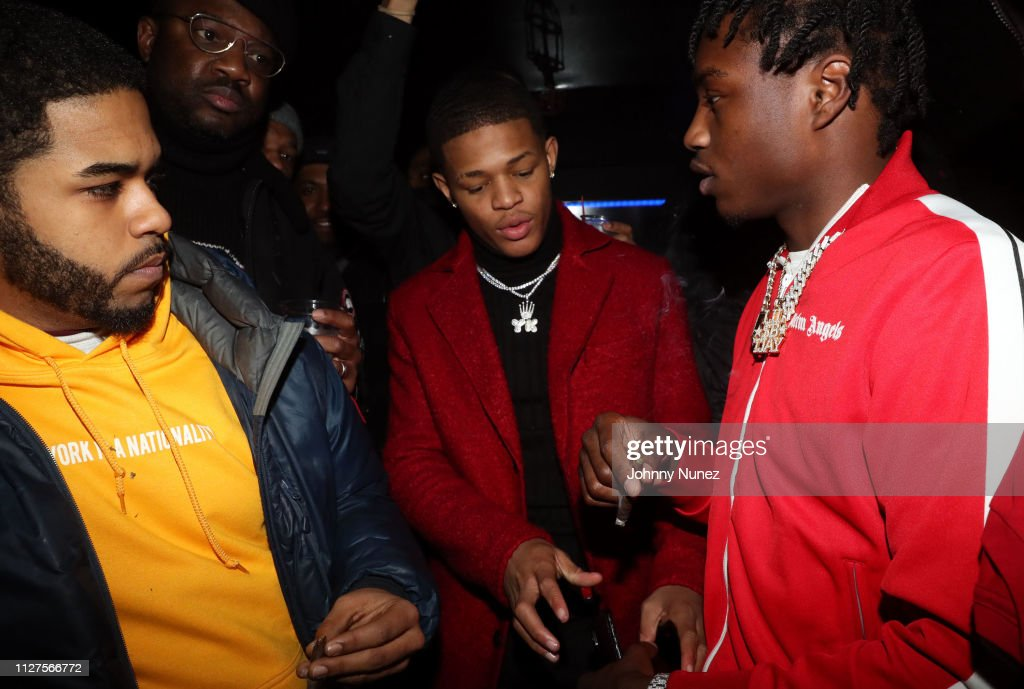 Mike B , YK Osiris, and Lil Tjay attend Hot 97 Who's Next