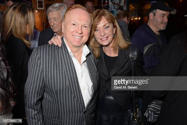 Mike Batt and Julianne White attend the Opening Night after party for Chasing Bono at the Soho Theatre on December 13 2018 in London England