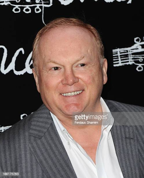 Mike Batt attends the press night for new musical 'Once' at Phoenix Theatre on April 9 2013 in London England