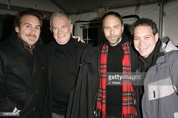 Mike Binder director of Upside of Anger Mark Damon Alex Gartner and Jack Binder producer