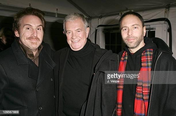 Mike Binder director of Upside of Anger Mark Damon and Alex Gartner
