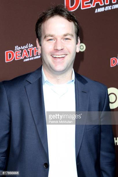 Mike Birbiglia attends HBO Presents the Season Premiere of BORED TO DEATH at NYU Skirball Center on September 21 2010 in New York City