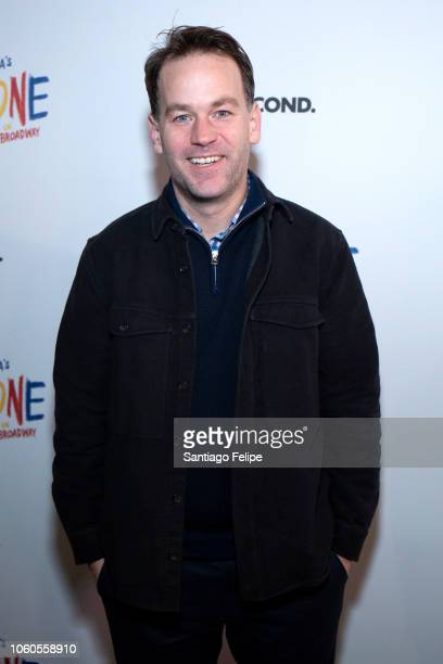 Mike Birbiglia attends The New One Broadway Opening Night at Cort Theatre on November 11 2018 in New York City