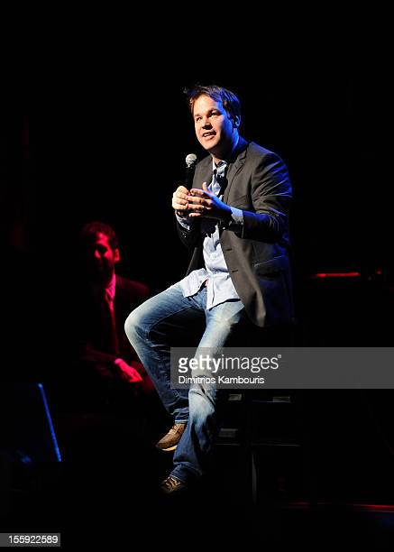 Mike Birbiglia performs during the 6th Annual Stand Up For Heroes at the Beacon Theatre on November 8, 2012 in New York City.